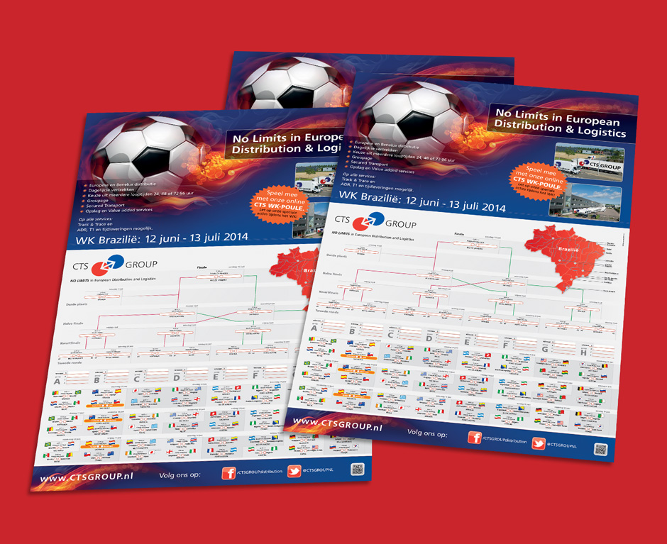CTS voetbal poster