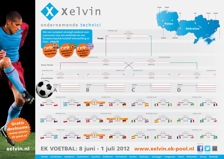 voetbal kalender speelschema EK WK