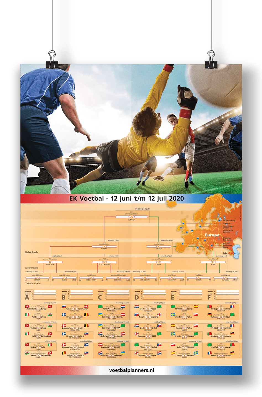 WK-EK-beurspromo voetbal