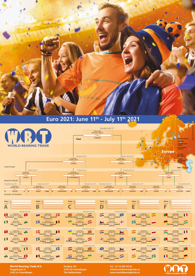 Euro-2021-poster-matchschedule-年歐洲杯海報比賽時間表